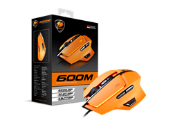 MOUSE COUGAR 600M ORANGE USB