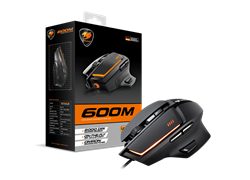 MOUSE COUGAR 600M BLACK USB