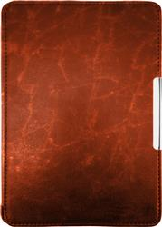 FUNDA EBOOK KINDLE PAPERWHITE CUERO MARRON MAGNETIZADA
