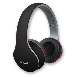 AURICULAR NOGA X-2550 FIT COLOR NEGRO PC/MP3