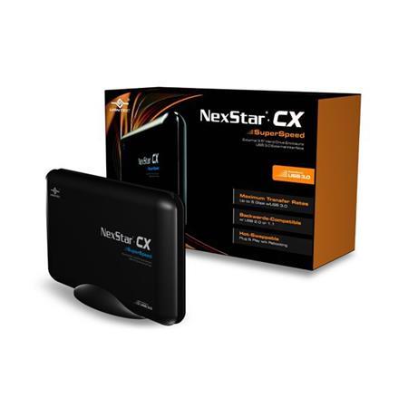 GABINETE CASE 3.5 VANTEC NEXTAR CX SUPERSPEED USB 3.0 SATA