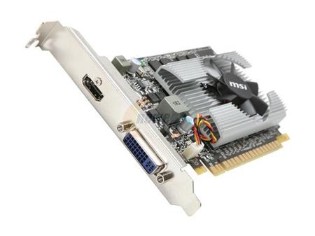 PLACA DE VIDEO GF MSI GT N210 1GB DDR3 64bit PCIE