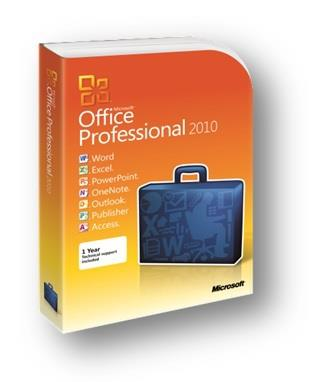 SOFTWARE OFFICE 2010 PROFESSIONAL BOX