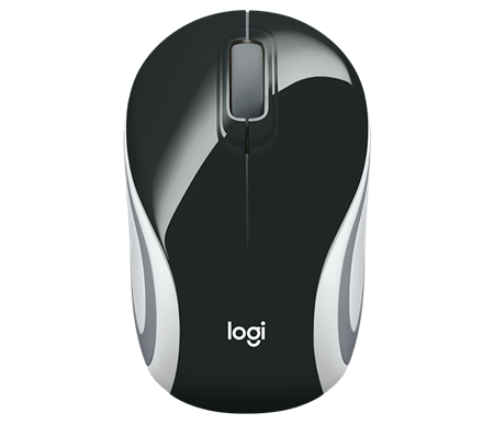 MOUSE WIRELESS LOGITECH M187 REFRESH BLACK 005459