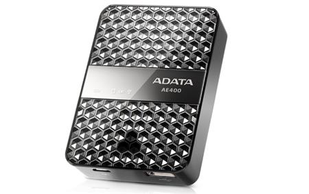 ROUTER ADATA POWER BANK STORAGE READER WIRELESS AAE400-CBKSV