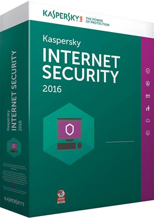 SOFTWARE KASPERSKY ANTIVIRUS INTERNET SECURITY 2016 10 PC