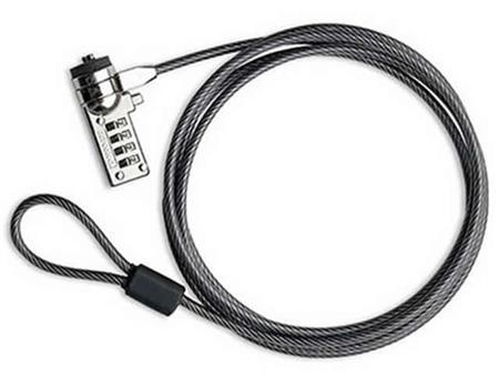 ACCES. NOTEBOOK CABLE DE SEGURIDAD CON COMBINACION ACEROACCES. NOTEBOOK CABLE DE SEGURIDAD CON COMBINACION...