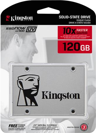 DISCO SSD SATA 120GB KINGSTON UV400