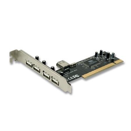 PLACA DE RED KANJI PCI A USB 4+1 2.0PLACA DE RED KANJI PCI A USB 4+1 2.0