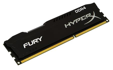 MEMORIA DDR4 8GB 2666 KINGSTON HYPERX FURY BLACK