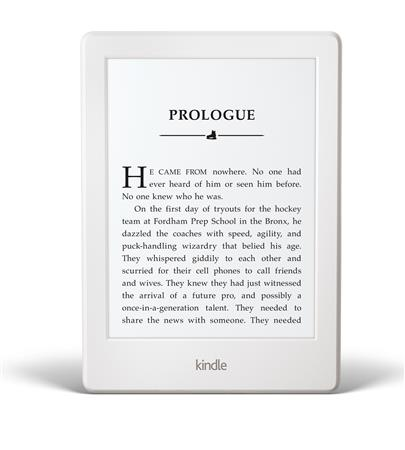 "EREADER 6"" KINDLE TOUCH WHITE 8GEN SY69JL 4GB WIFI 2016"