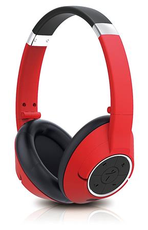 AURICULAR WIRELESS C/MIC VINCHA GENIUS HS-930BT BLUETOOTH 4.0 ROJO