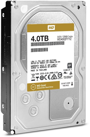 DISCO RIGIDO 4TERA WESTERN DIGITAL GOLD SATA III (SERVER)