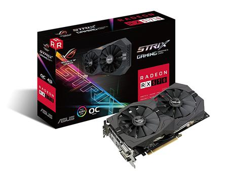 PLACA DE VIDEO RADEON ASUS RX 570 ROG 4GB GDDR5 256bit PCIE