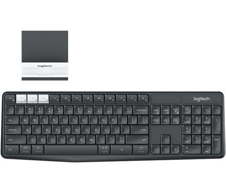 TECLADO LOGITECH K375S MULTI-DEVICE WIRELESS/BLUETOOTH