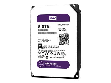 DISCO RIGIDO 8TERA WESTERN DIGITAL PURPLE 64MB SATA III WD80PURX