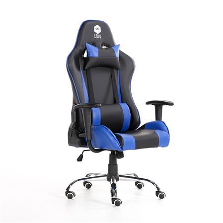 SILLA GAMER DOOKU KJ-D321C (BLACK & BLUE) CUEROSILLA GAMER DOOKU KJ-D321C (BLACK & BLUE)...