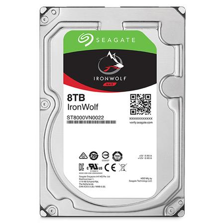 DISCO RIGIDO 8TERA SEAGATE IRONWOLF 7200 256MB NAS RAID
