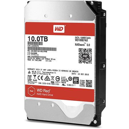 DISCO RIGIDO 10TERA WESTERN DIGITAL RED NAS (WD100EFAX) SATA III