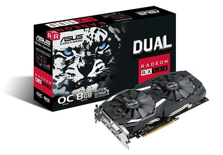 PLACA DE VIDEO RADEON ASUS RX 580 DUAL OC 8GB GDDR5 256bit PCIE