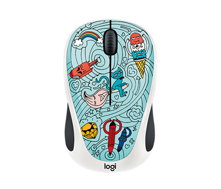 MOUSE WIRELESS LOGITECH M317 BAE BEE BLUE 005039
