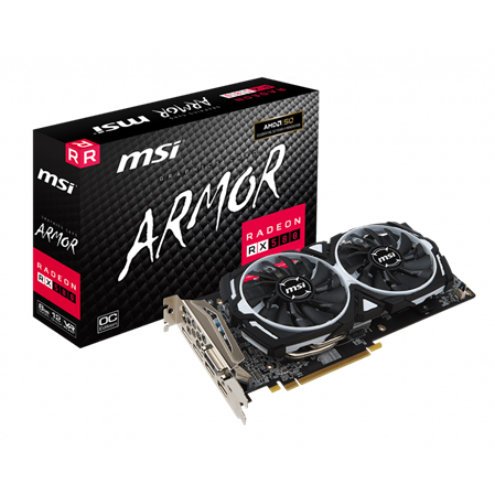 PLACA DE VIDEO AMD MSI RADEON RX 580 ARMOR 8GB GDDR5 256BIT PCIE 3.0PLACA DE VIDEO AMD MSI RADEON RX 580 ARMOR...