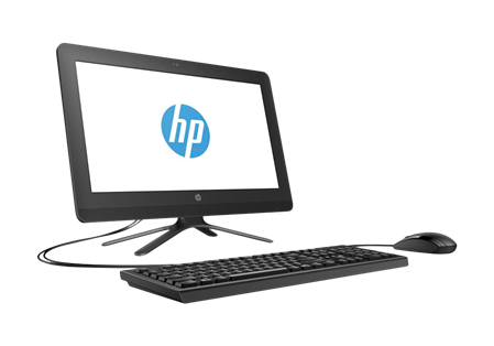 "ALL IN ONE 20"" HP 205 G3 AMD E2-7110 4GB HD 1TERA WIN 10"