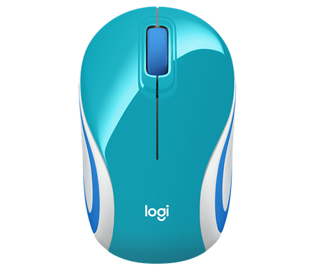 MOUSE WIRELESS LOGITECH M187 REFRESH TEAL 005363