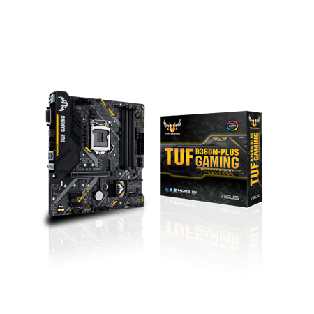 MOTHERBOARD ASUS B360M-PLUS TUF GAMING 1151