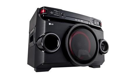 MINICOMPONENTE LG OM4560 ONEBODY CD  220W (RMS) BLUETOOTH KARAOKE EFECTOS DJ