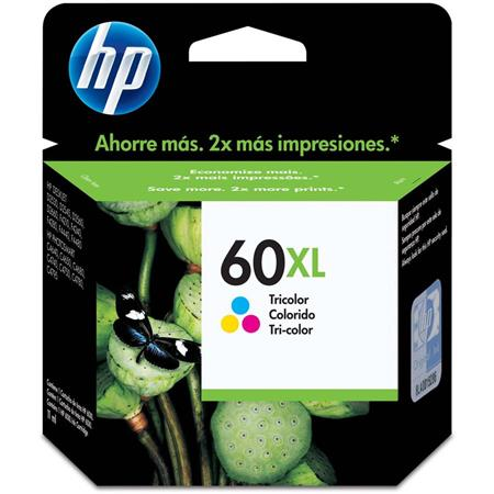 CARTUCHO HP 60XL TRICOLOR F4280