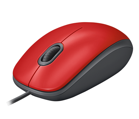 MOUSE LOGITECH M110 SILENT RED 005492