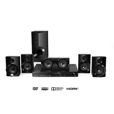 HOME THEATRE NOBLEX HT2150 5.1 DVD USB HDMI AUX AM-FM