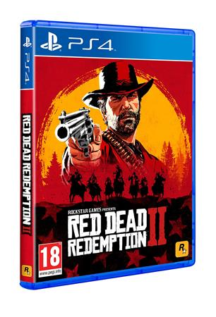 JUEGO PS4 BOX RED DEAD REDEMPTION II