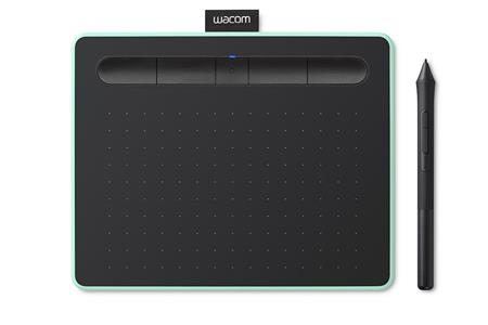 TABLETA GRAFICA WACOM INTUOS COMFORT PLUS MEDIUM CTL6100WLE0 PISTACHO