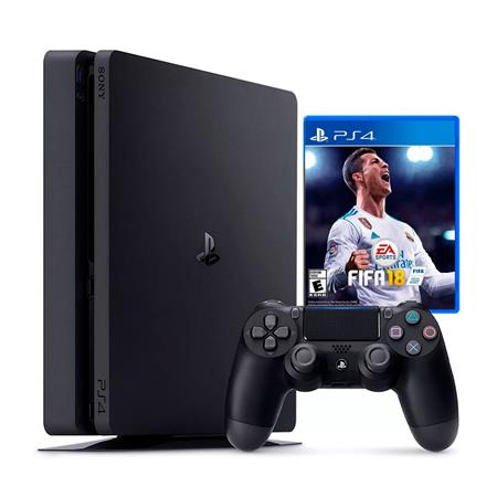 CONSOLA SONY PS4 PLAYSTATION 4 1TERA FIFA 18 BUNDLE