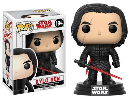 FIGURA FUNKO POP STAR WARS KYLO REN 194