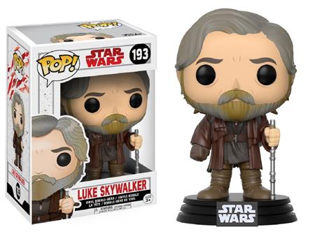 FIGURA FUNKO POP STAR WARS LUKE SKYWALKER 193