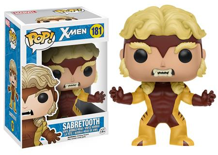 FIGURA FUNKO POP MARVEL X-MEN SABRETOOTH 181
