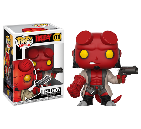 FIGURA FUNKO POP COMICS HELLBOY 1