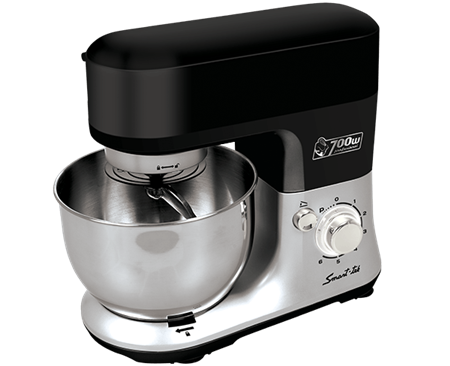 BATIDORA SMART-TEK KITCHEN ASSIST BOWL METALICO 700W 4L/1.5KG PICADORA LICUADORA