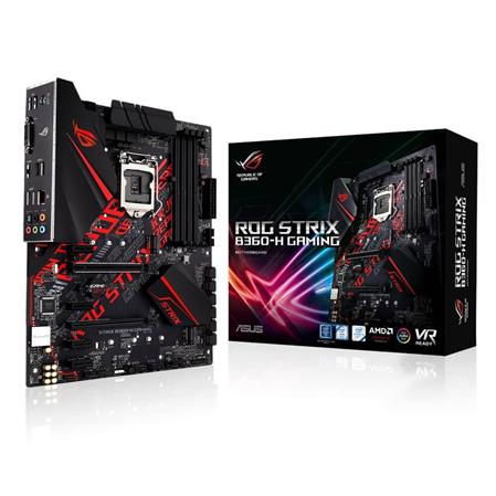 MOTHERBOARD ASUS B360-H GAMING ROG STRIX