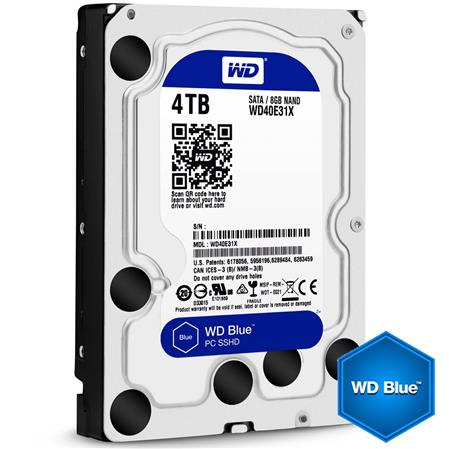 DISCO RIGIDO 4TERA WESTERN DIGITAL BLUE 7200 64MB SATA III