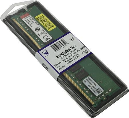 MEMORIA ECC DDR4 8GB 2666 CL19 KINGSTON SERVER KSM26ES8/8MEMEMORIA ECC DDR4 8GB 2666 CL19 KINGSTON SERVER...