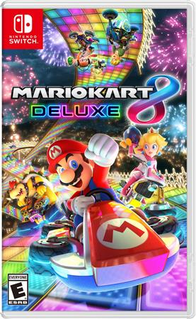 JUEGO NINTENDO SWITCH BOX MARIO KART 8 DELUXE