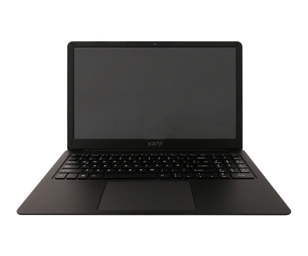 "NOTEBOOK 15"" KANJI TAMURA DUO MAX N3350 4GB EMMC 32GB 1TERA HD WIN 10 BLACK"