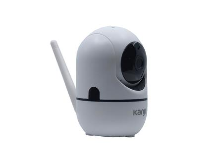 CAMARA IP WIRELESS KANJI KJ-CAMIPMX1 SONIDO BIDIRECCIONAL MICROSD HD IDS Y ANDROID