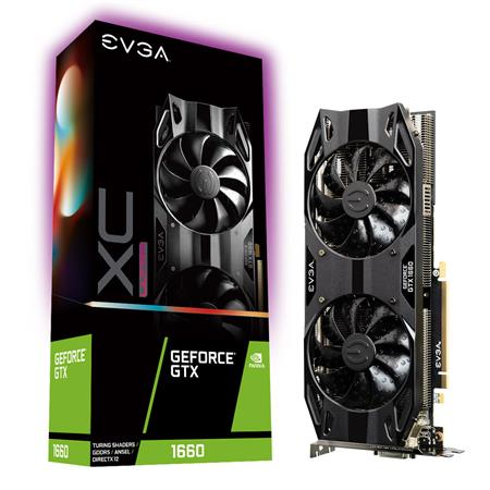 PLACA DE VIDEO GF EVGA GTX 1660 XC ULTRA GAMING 6GB GDDR5 192bit PCIE
