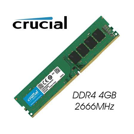 MEMORIA DDR4 4GB 2666 CRUCIAL