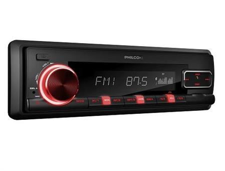 AUTOESTEREO PHILCO CSP810BT 50W BLUETOOTH MP3/MP3 CON ID3 AG,SLOT TARJETA SD,AUXILIAR AM/FM LCD